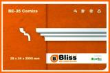 cornisa Deco Bliss BE-35 paq. 4 metros caja 25 paquetes