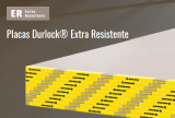 placa DURLOCK 12.5 mm. x 2.40 m. EXT RESIS. P.60 art. 9356