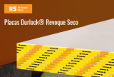 placa DURLOCK 12.5 mm. x 2.40 m. REVOQUE SECO P.60 art. 2359